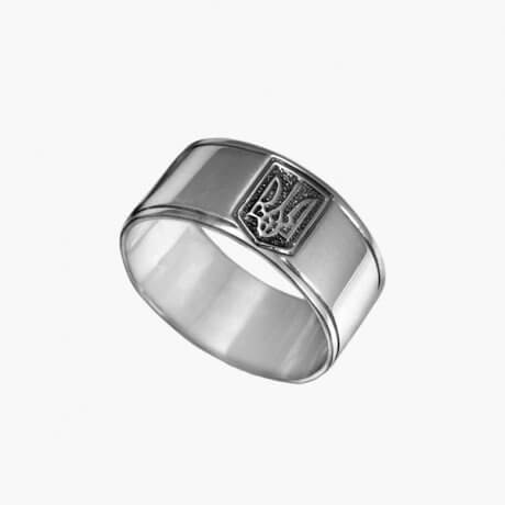 Кольцо Тризуб