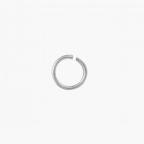Кольцо соединительное разрезное Ø7 из серебра Арт. С02-07