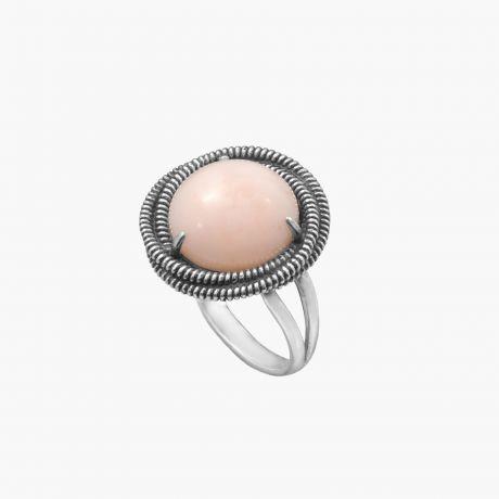 Кольцо с опалом неблагородным