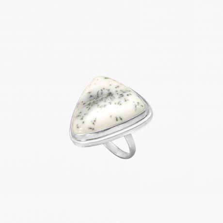 Кольцо с дендроопалом