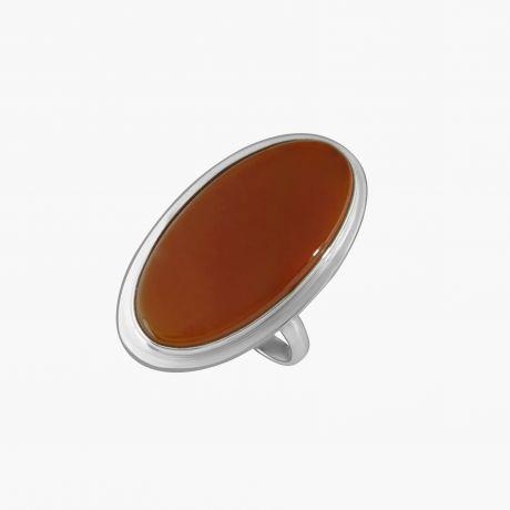 Серебряное кольцо с сердоликом