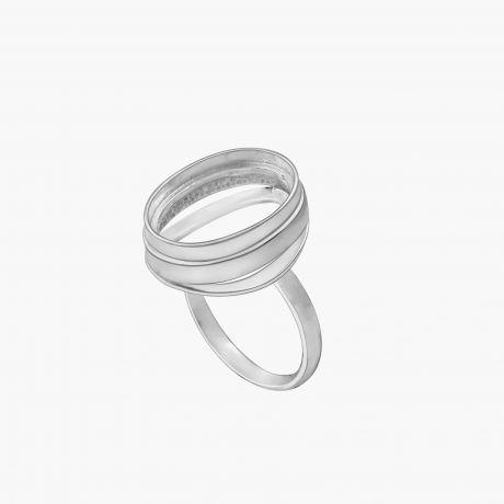 """Серебряное кольцо """"Андреа 12х16мм"""" Арт. Х561216К"""