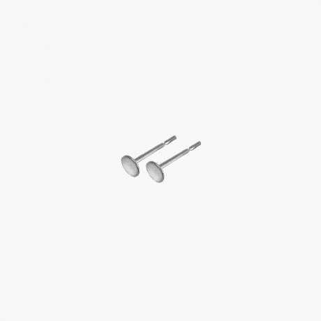 Серебряные пуссеты 4мм  Арт. М024