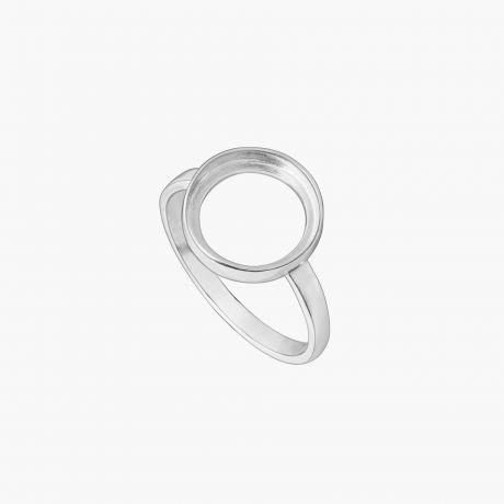 "Серебряное кольцо ""Круглый каст без поля Ø11"" Арт. Х22211К"