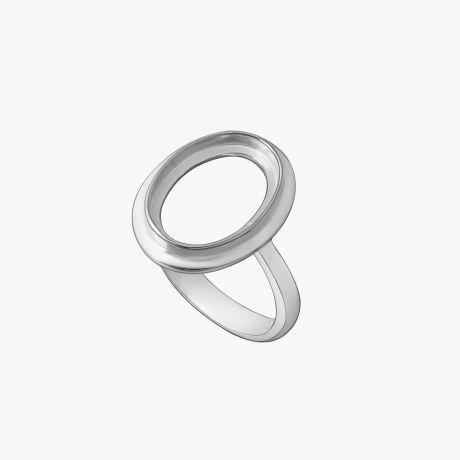 """Серебряное кольцо """"Поле 10х14"""" Арт. Х2201014К"""